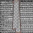 Folded Ribbon - Gray Polka Dots