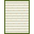 Egypt - Striped Journal Card - Green