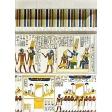 Egypt Hieroglyphs - White Wall