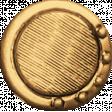 Egypt - Vintage Button