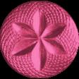 Egypt - Pink Button
