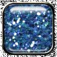 DSA Feb 2014 - Blue Glitter Brad