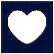 Oceanside Frame - Heart