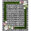 Green Flower Frame