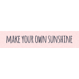 Where Flowers Bloom Labels - Make Your Own Sunshine