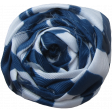 At The Farm Fabric Flower - Blue