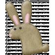 Garden Bunny - Brown Bunny