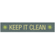 Earth Day - Keep It Clean Label