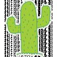 Cactus Sticker - Mexico