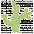 Cactus Sticker 02 - Mexico
