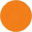 Paper Flower 14 - Orange