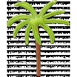 Felt Palm Tree - Mexico