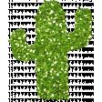 Glitter Cactus - Mexico