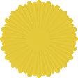 Paper Flower 15 - Yellow