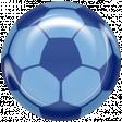 World Cup Bard Soccer Ball - Blue