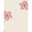 Road Trip Journal Card - Flowers