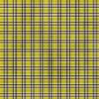 Plaid Paper 07 - Yellow & Navy