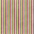 Stripes 107 Paper - Blue & Coral