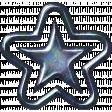 1000 Star - Blue