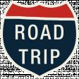 Road Trip - Interstate Road Trip Sticker