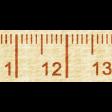 Road Trip - Tape Measure Trim