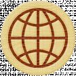 Road Trip - Globe Wood Coin