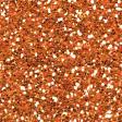 Garden Party - Orange Seamless Glitter