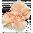 Garden Party Silk Flower - Coral