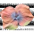 Garden Party Silk Flower - Coral 4 Petals