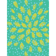Garden Party Journal Cards - Yellow Flower Journal Card