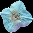 Garden Party Silk Flower - Dark Blue
