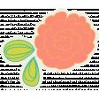 Garden Party Flower - Coral Set 025 BB