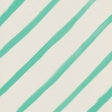 Garden Party Painted Stripes Paper - Teal