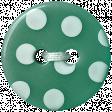 Garden Party Button - Green Polkadot
