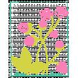 Garden Party Stamp - Strawberries