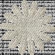 Paper Flower 01 - White Glitter