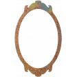 Bolivia Cork Elements - Fancy Frame Painted