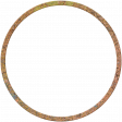 Bolivia Cork Elements - Round Frame Painted