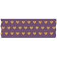 Autumn Art Washi - Purple