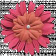 Kawaii Halloween Flower - Pink