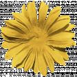 Kawaii Halloween Flower - Silk Yellow