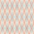 Argyle 8 - Blue & Pink - Distressed