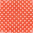 Polka Dots 35 - Coral & Pink - Distressed
