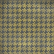 Houndstooth Paper - Brown & Gray