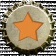 Orange Star Bottlecap