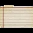 Index Card - Notebook
