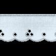 Ribbon 10 - Scalloped - Blue