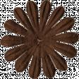 Brown Paper Flower