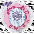 Paper Glitter Flower - Purple & Pink