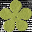 Paper Flower 09 - Lime Green